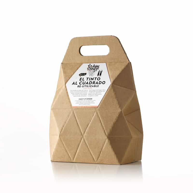 bag in box vino diseño