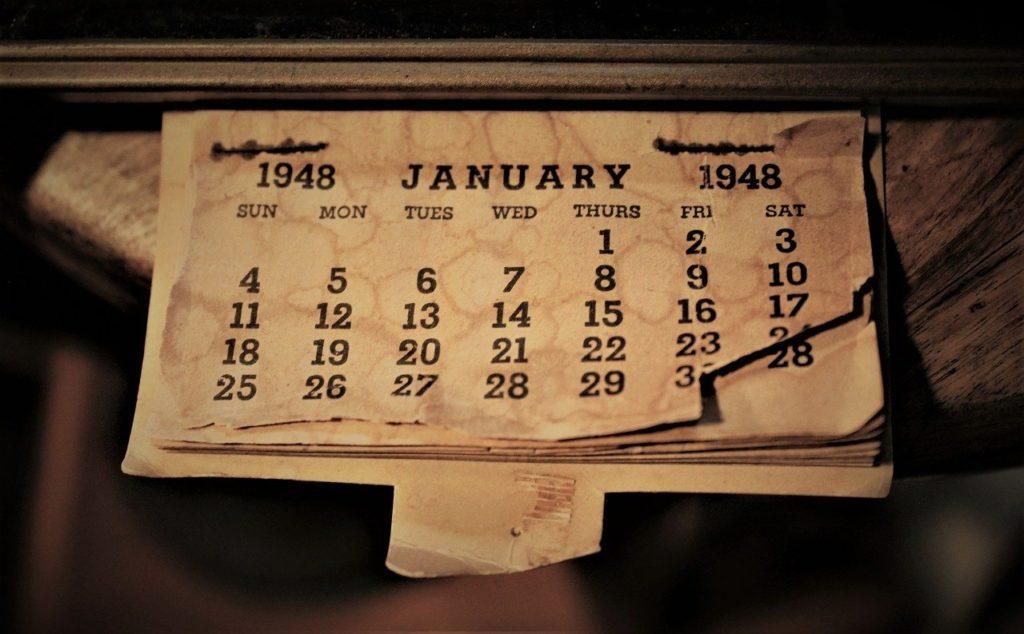 january, calendar, month